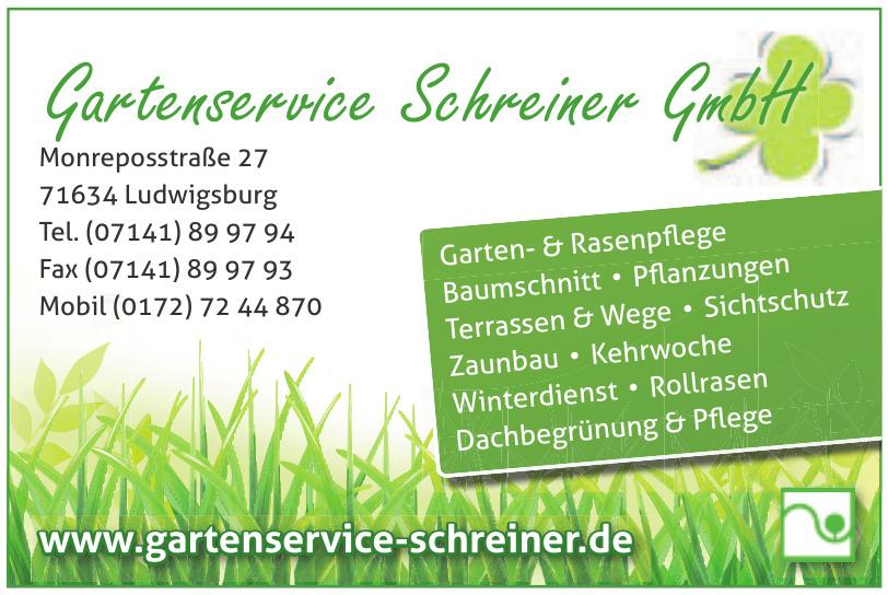 Gartenservice Schreiner GmbH