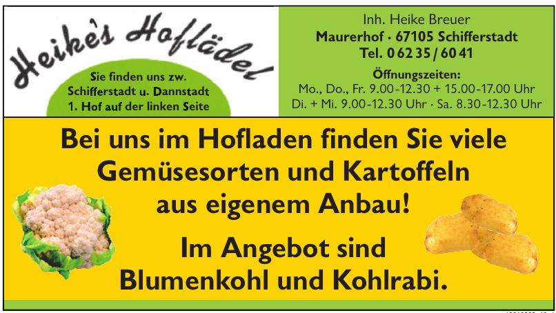 Heike´s Hoflädel