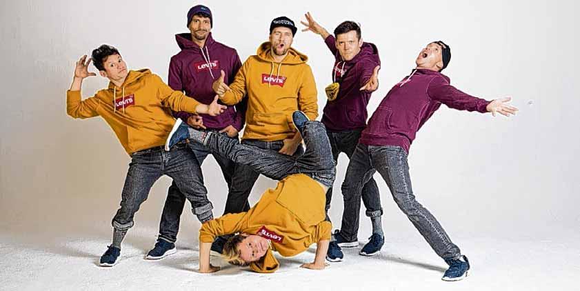 """Die Breakdancer """"Da Rookies"""" aus Magdeburg sind auf der SAW-Bühne am Sonnabend ab 19 Uhr im Programm zu sehen."""