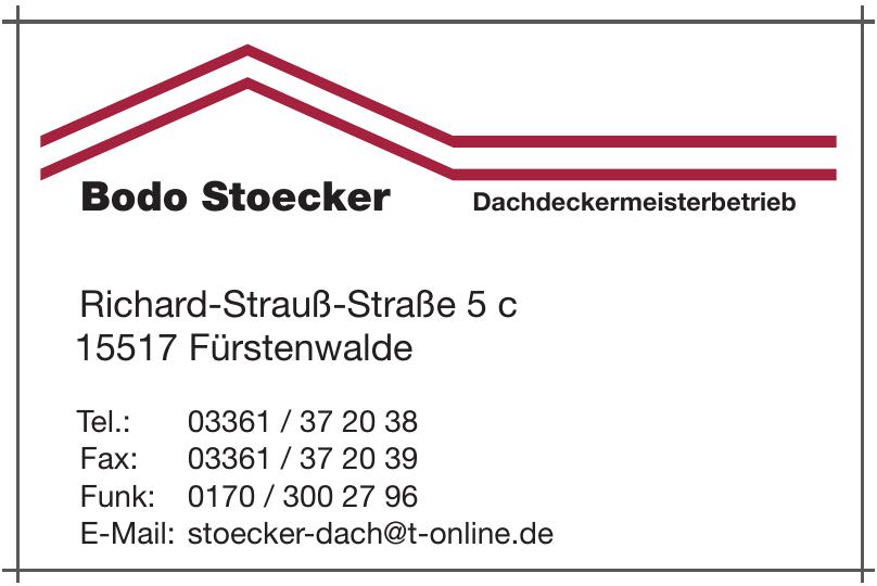 Bodo Stoecker Dachdeckermeisterbetrieb