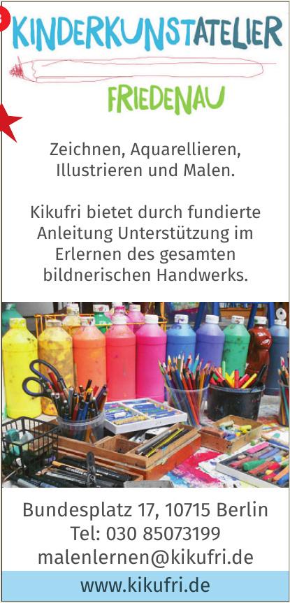 Kinderkunstatelier - Friedenau