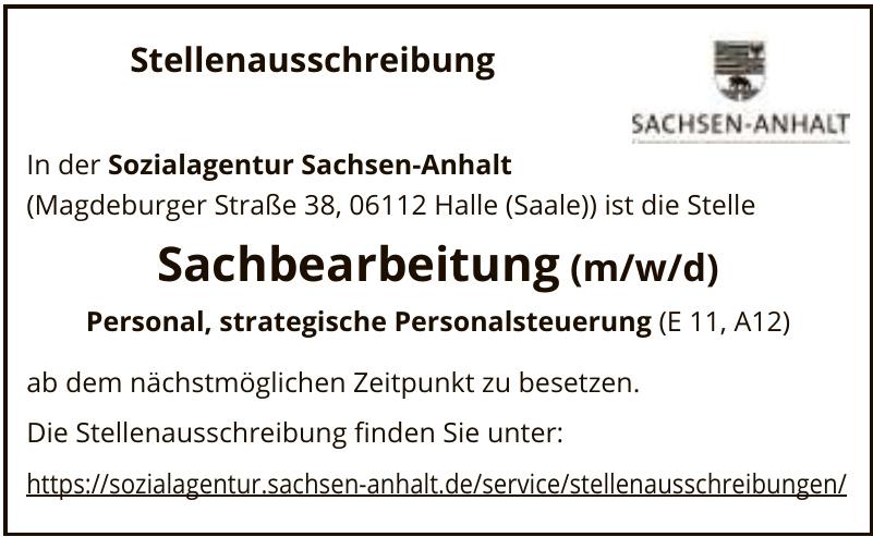 Sozialagentur Sachsen-Anhalt