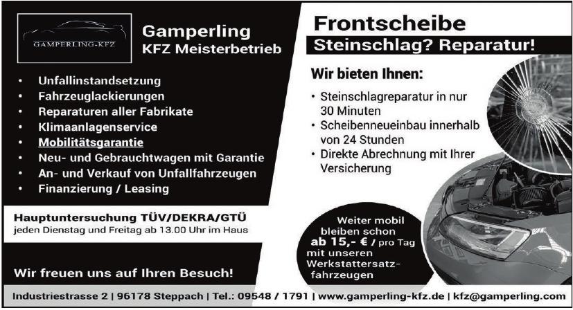 Gamperling KFZ Meisterbetrieb