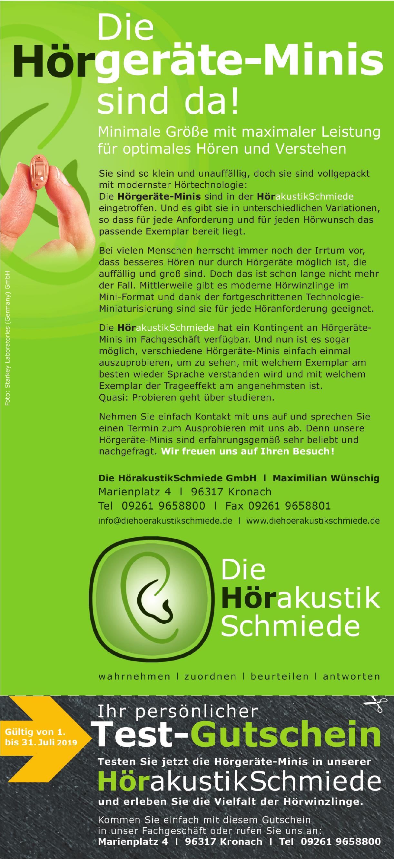 Die HörakustikSchmiede GmbH