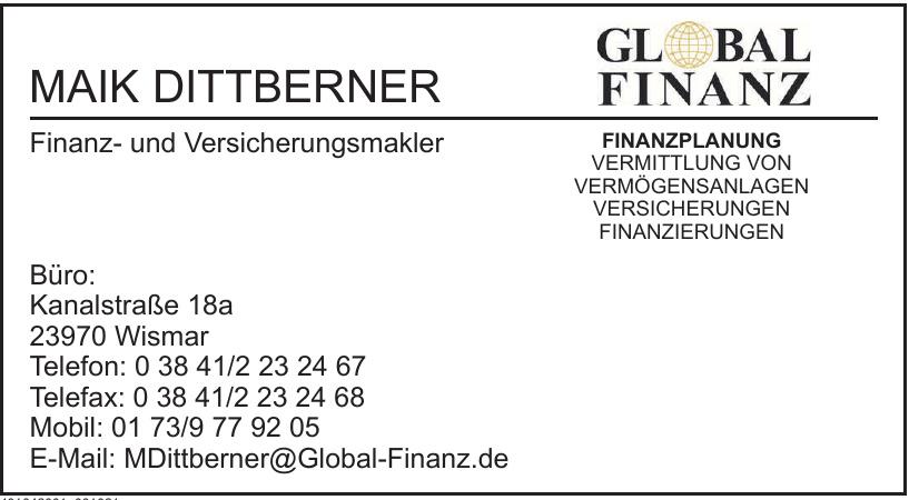 Maik Dittberner Global Finanz