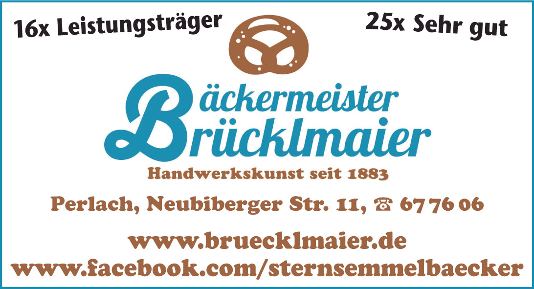 Bäckermeister Brücklmaier