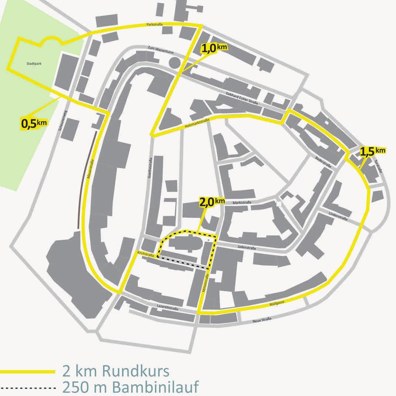Die Laufstrecke des 1. Nauener Altstadtlaufs führt an so manchen Sehenswürdigkeiten vorbei. Foto: QTE Qualitytime Events: