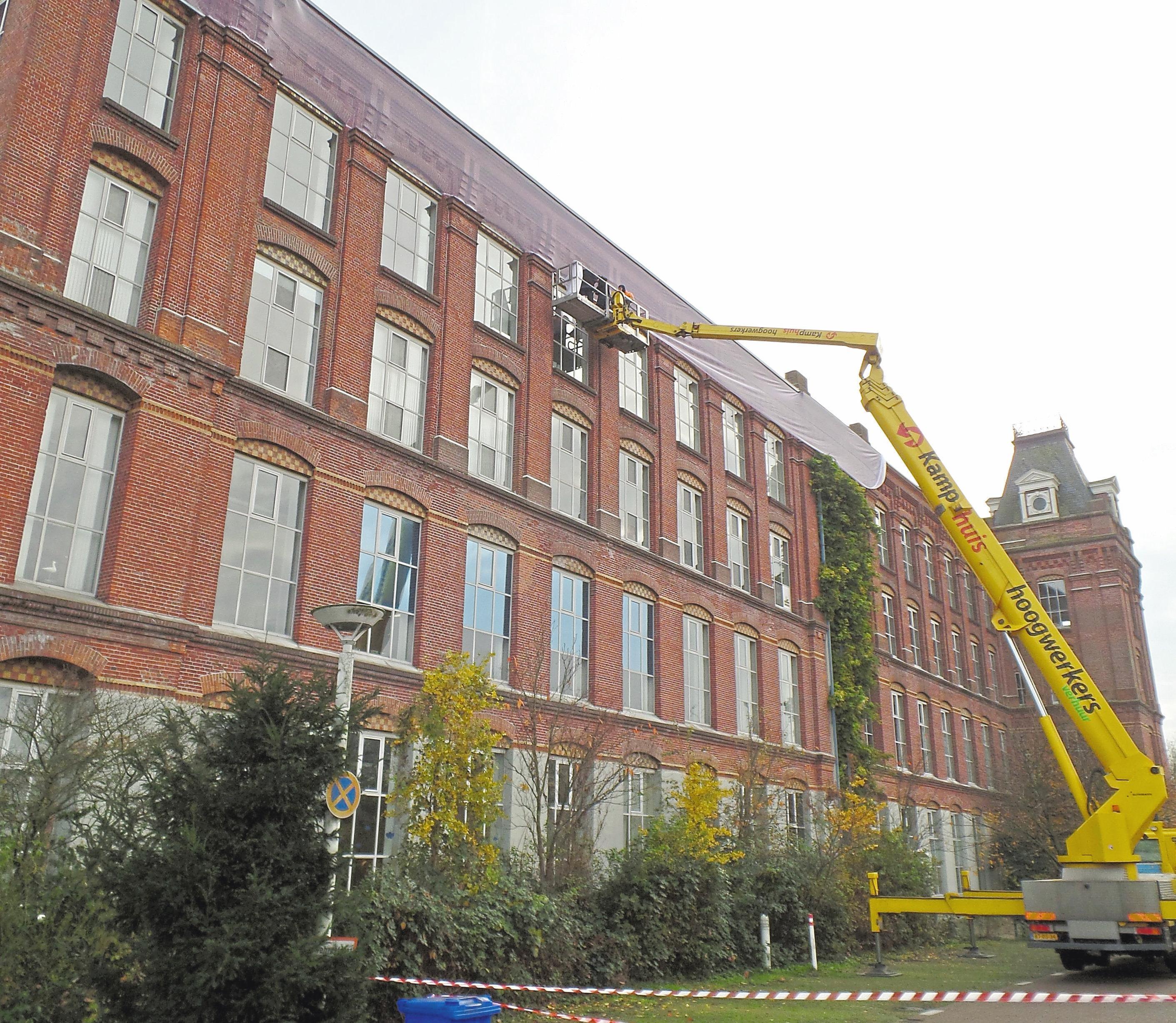 Von 2015 bis 2019 wurde die Fassade des Gebäudes in verschiedenen Bauabschnitten saniert.