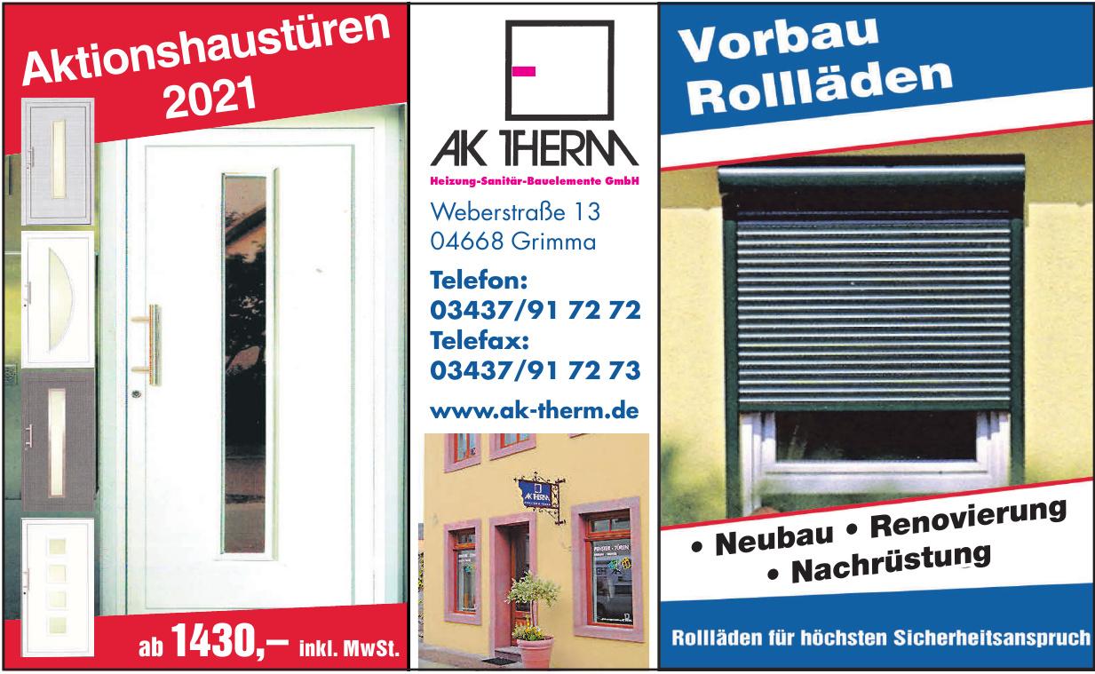 AK Therm Heizung-Sanitär-Bauelemente GmbH