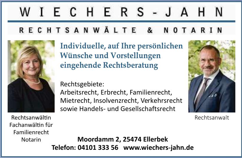 Wiechers-Jahn GbR – Rechtsanwälte und Notarin