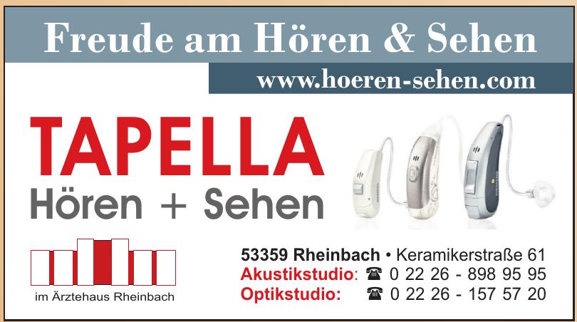 Tapella Hören & Sehen