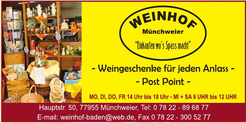 Weinhof Münchweier