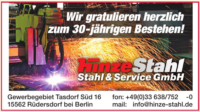 hinze Stahl - Stahl & Service GmbH