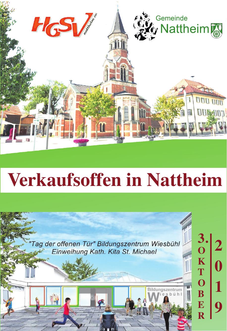 Verkaufsoffen in Nattheim