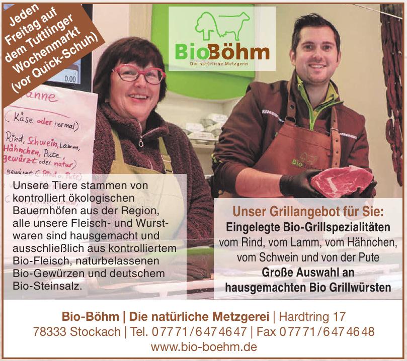 Bio Böhm – Die natürliche Metzgerei