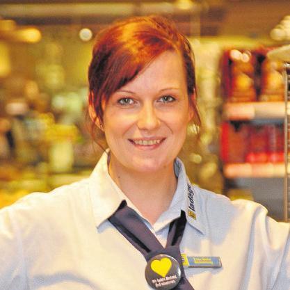 Marktleiterin Melanie Moh