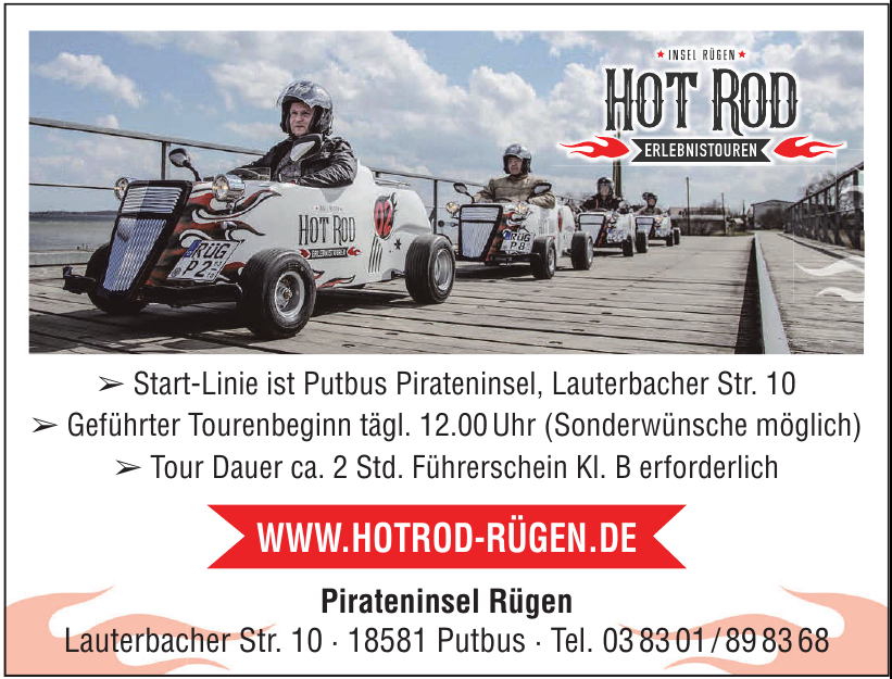 Hot Rod Inel Rügen
