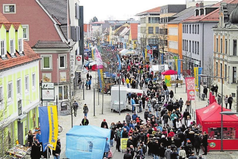 Das Frühlingsfest in Schwabmünchen wird zum tollen Event für die komplette Familie. Dort gibt's für Groß und Klein allerhand zu erleben. Foto: bw