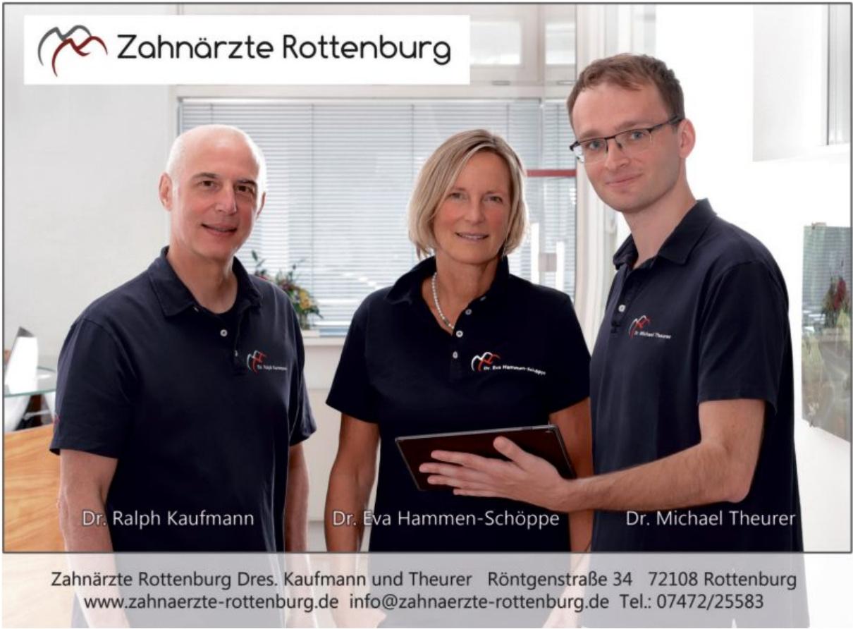 Zahnärzte Rottenburg Dres. Kaufmann und Theurer