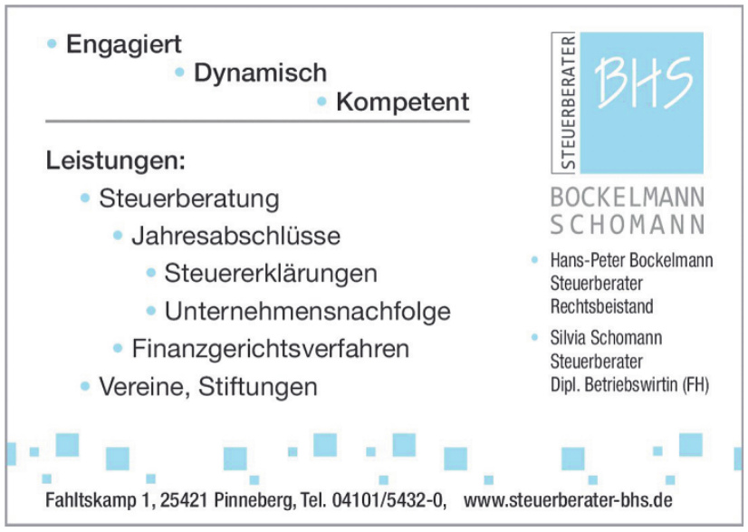 Steuerberater BHS