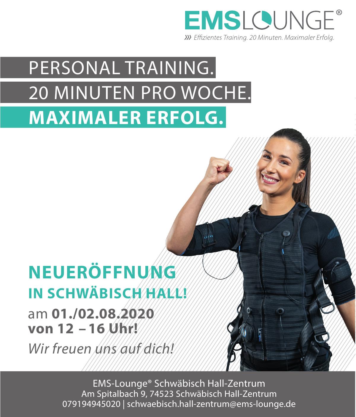 EMS-Lounge® Schwäbisch Hall-Zentrum
