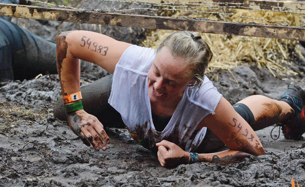 Anke Brennecke beim Tough-Mudder-Wettbewerb 2019. Foto: Privat