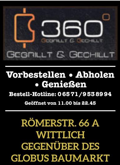360° Gegrillt & Gechillt