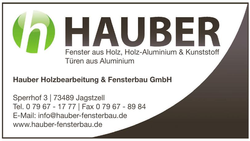 Hauber Holzbearbeitung & Fensterbau GmbH