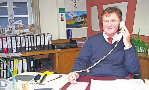 Bürgermeister Hans-Peter Laschka ist stolz auf seine Gemeinde.Fotos: Heike Schülein