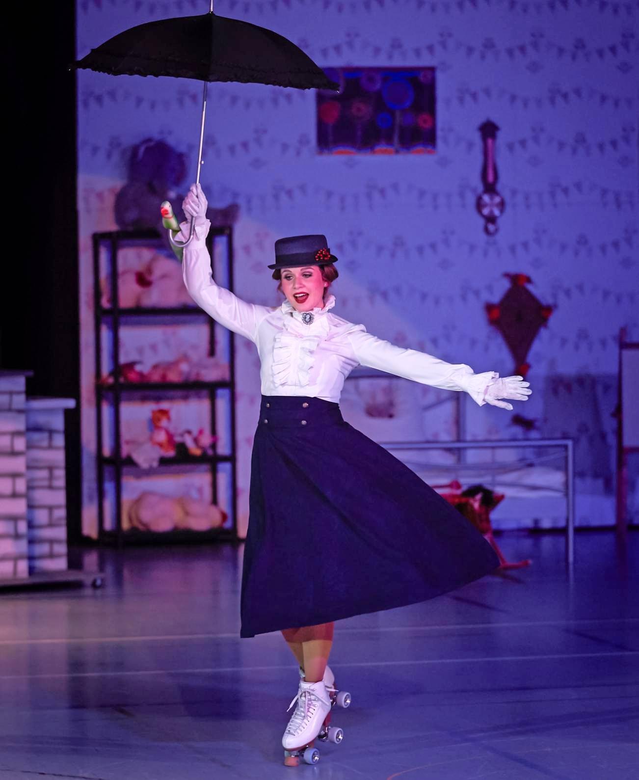 """Ein Gesamtkunstwerk auf Rollen bietet der RRV Bad Friedrichshall bei den Aufführungen von """"Mary – Das Musical"""". Foto: privat"""