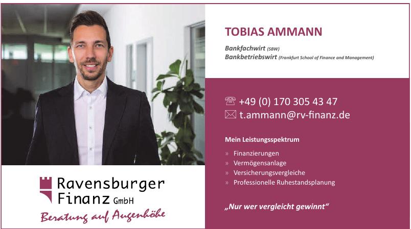Ravensburger Finanz GmbH - Tobias Ammann