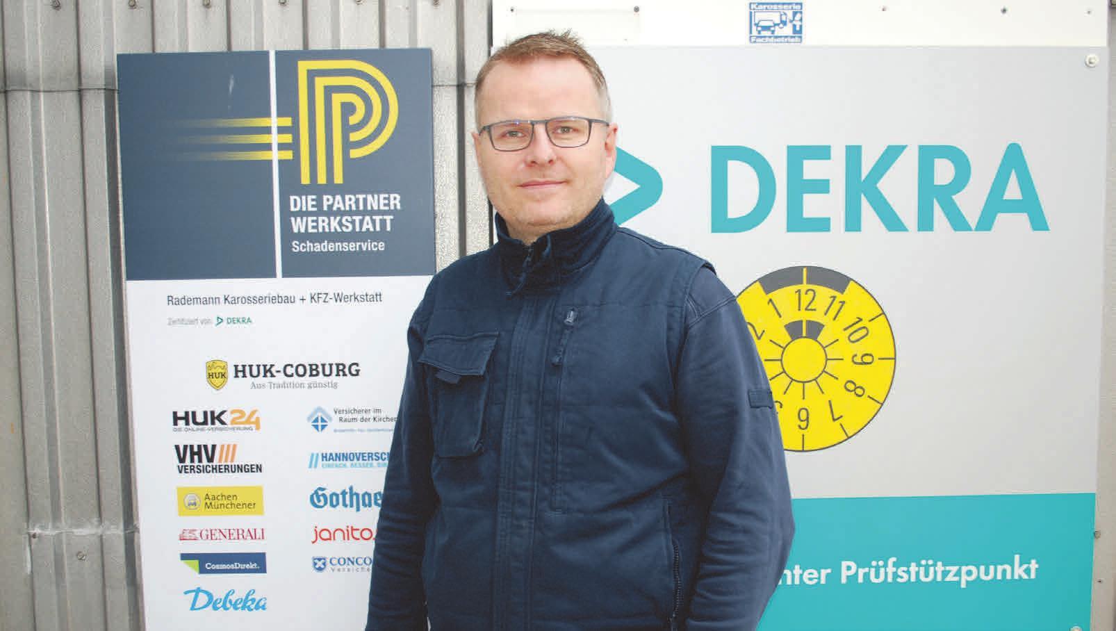 Malte Rademann arbeitet mit Versicherungen zusammen. Foto: Birthe Kußroll-Ihle