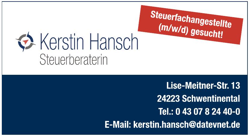 Kerstin Hansch