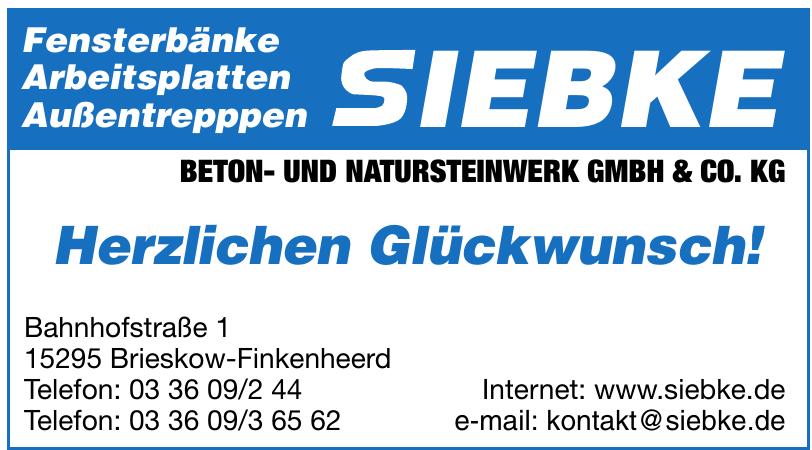 Siebke Beton- und Natursteinwerk GmbH & Co. KG