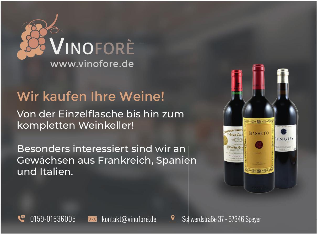 Vinoforè