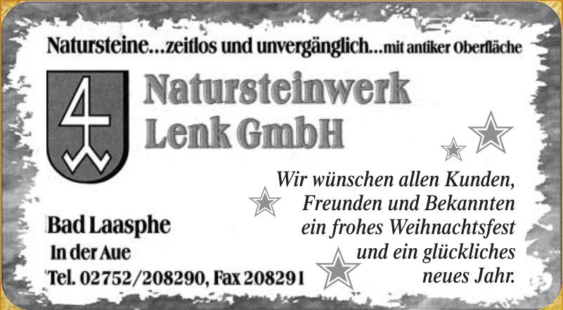 Natursteinwerk Lenk GmbH