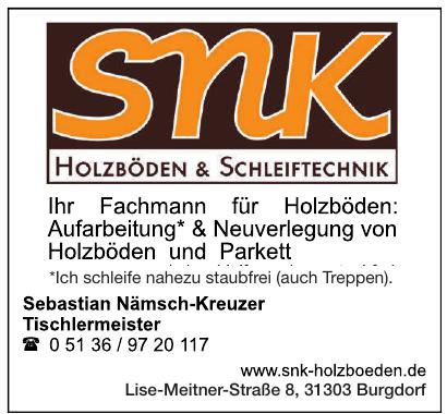 snk Holzböden & Schleiftechnik