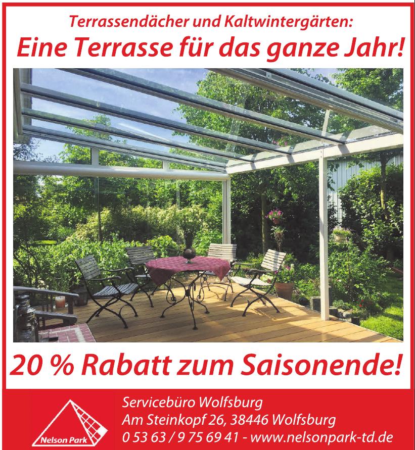 Nelson Park Terrassendächer GmbH