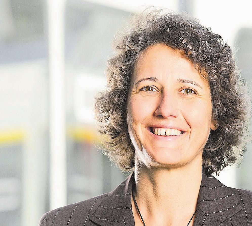 Catherine Spiegel ist bei der AVA verantwortlich für die Human Resources. Bild: zvg