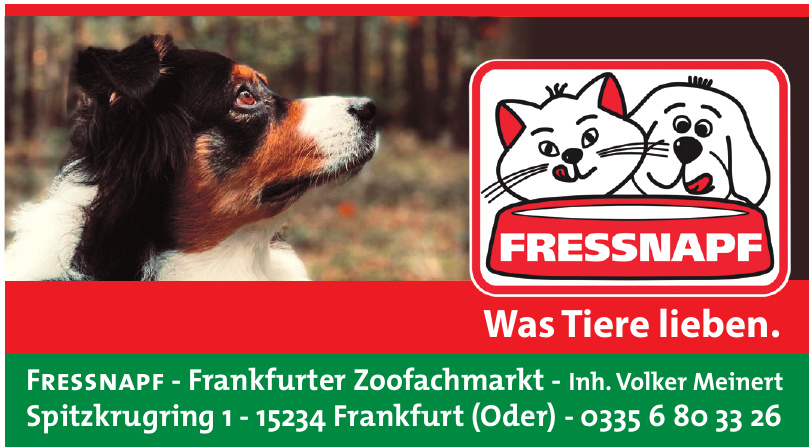 Fressnapf - Frankfurter Zoofachmarkt