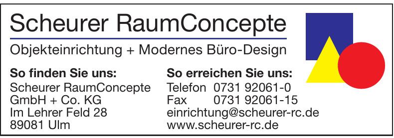Scheurer RaumConcepte GmbH + Co. KG