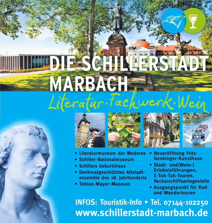 Die Schillerstadt Marbach