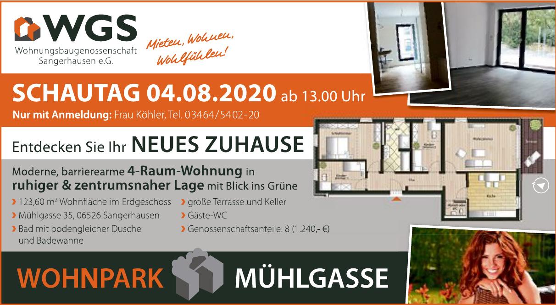 WGS Wohnungsbaugenossenschaft Sangerhausen e.G.