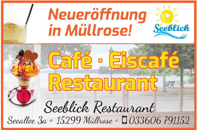 Seeblick Restaurant & Eiscafé