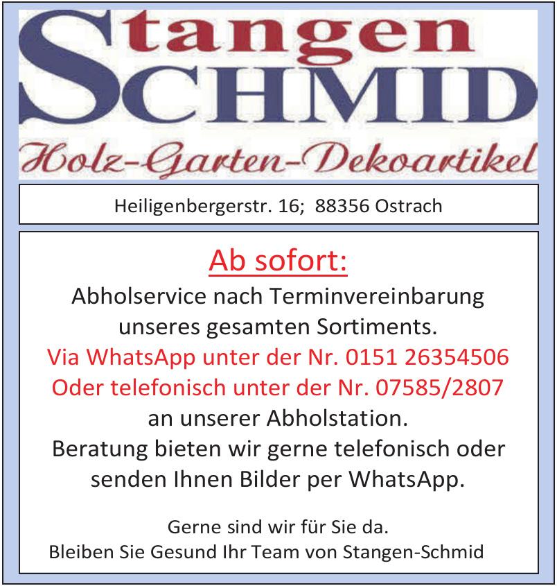 Stangen Schmid