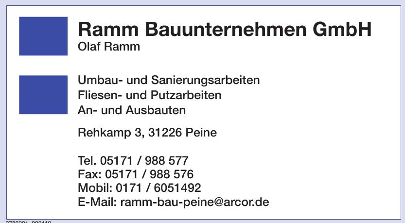 Ramm Bauunternehmen GmbH