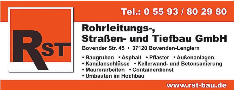 RST Rohrleistungs-, Straßen- und Tiefbau GmbH