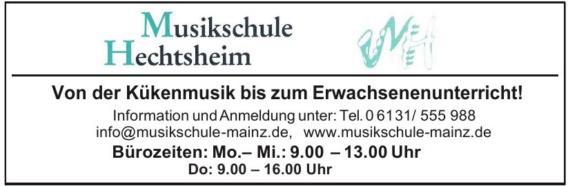 Musikschule Hechtsheim