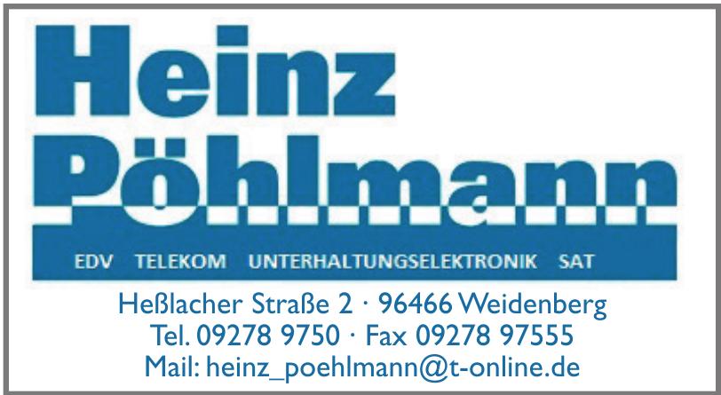 Heinz Pöhlmann