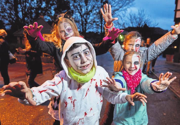 Heide Park Halloween: Gruselspaß für die ganze Familie. Foto: Christian Wyrwa